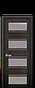 Дверное полотно Элиза со стеклом сатин