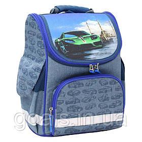 Рюкзак школьный каркасный Bagland Успех 12 л. 225 синiй 58 м (00551692)