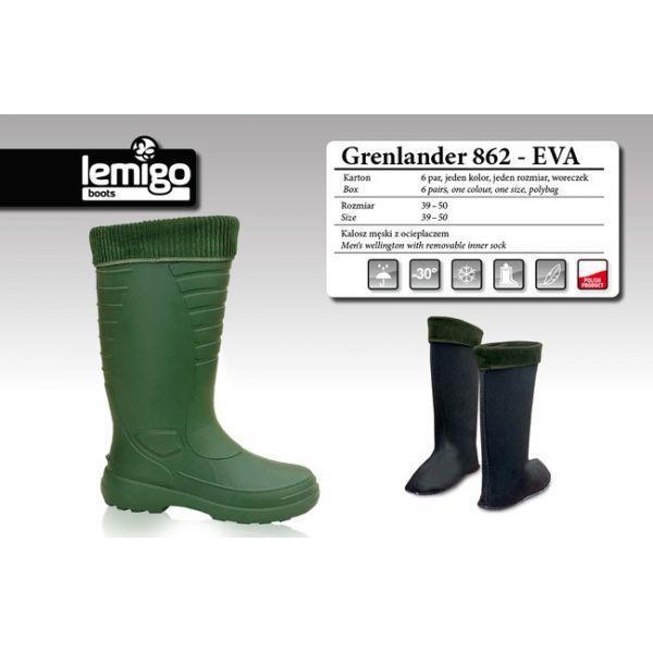 Сапоги Lemigo GRENLANDER 862 EVA  до (-30°) р.49 (862 EVA 49)