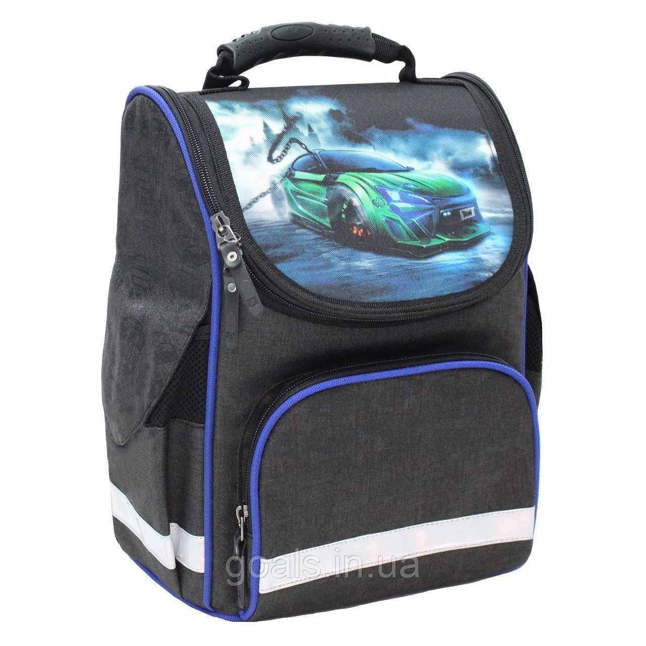 Рюкзак школьный каркасный Bagland Успех 12 л. чорний 3 м (00551692)