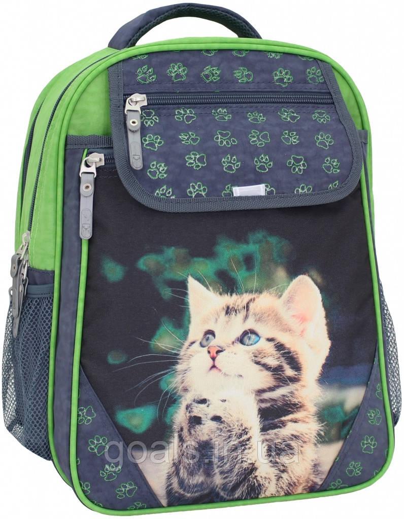 Рюкзак школьный Bagland Отличник 20 л. 321 сірий 21 м (0058070)