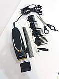 Машинка-триммер для стрижки волос GEMEI GM 809, фото 2