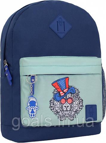 Рюкзак Bagland Молодежный W/R 17 л. 225 синій 181 (00533662)