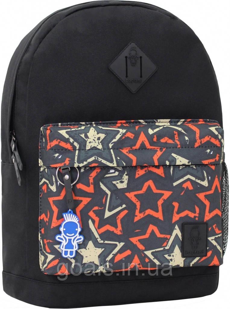 Рюкзак Bagland Молодежный W/R 17 л. чорний 185 (00533662)