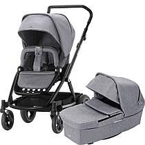 Универсальная коляска 2 в 1 BRITAX GO NEXT 2 Grey Melange/Black