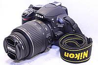 Б/у Зеркалка Nikon D3100 af-s nikkor 18-55, фото 1