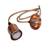 Патрон-светильник подвесной Е27 в металлическом корпусе медь ST 796