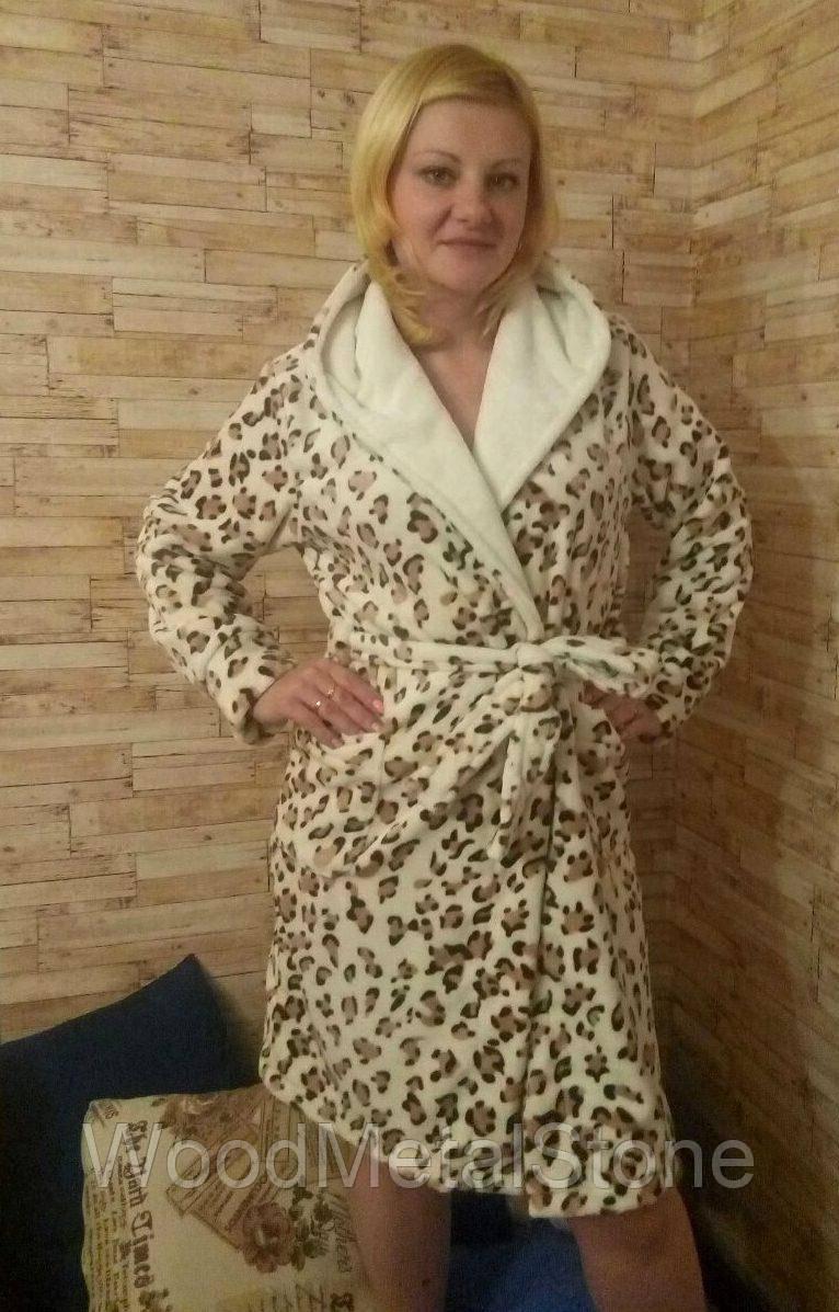62abe71ce9200 Теплый красивый женский махровый халат 42-50, доставка по Украине ...