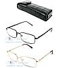 Очки для зрения +/- (линзы стекло) Код:2172