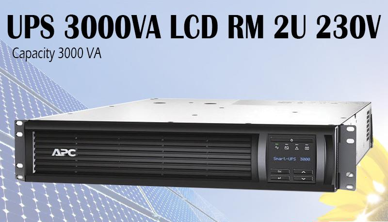 ИБП APC Smart UPS 3000VA LCD RM 2U 230V ( SMT3000RMI2U ) с чистой синусоидой