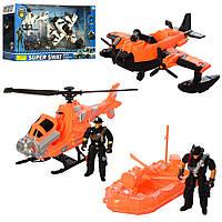 Детский набор  спасателей YH-14S-12R  от14см, ББ