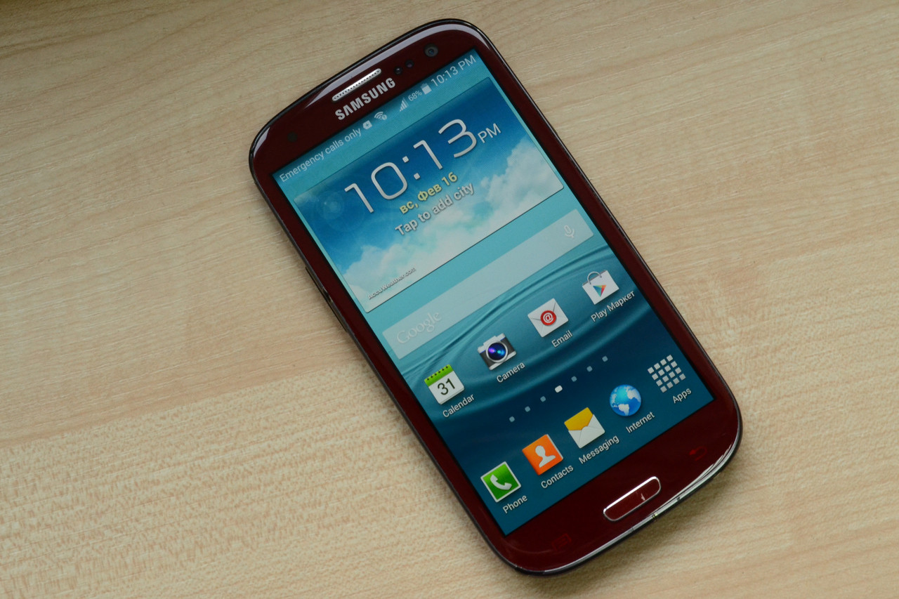 Samsung Galaxy S3 I747 16Gb Garnet Red Оригинал!