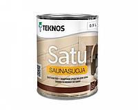 Лак влагозащитный TEKNOS SATU SAUNASUOJA для саун 0,9 л