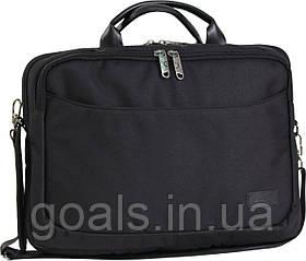 Сумка для ноутбука Bagland Fremont 11 л. Чёрный (0042766)