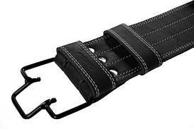 Пояс для пауэрлифтинга 100 мм, скоба, двухслойный S (60-80 см)