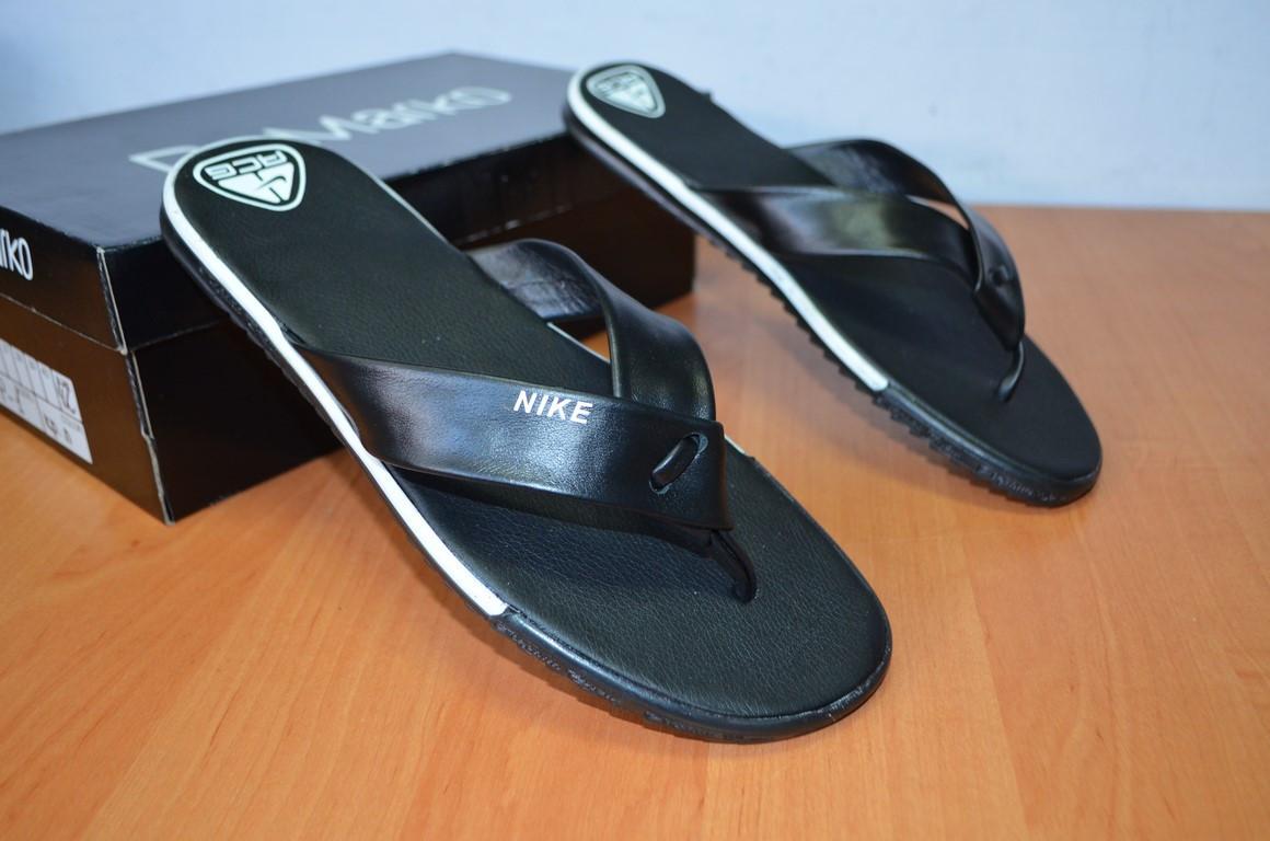 9abf435d Шлепанцы Nike.вьетнамки Кожаные.Реплика. — в Категории