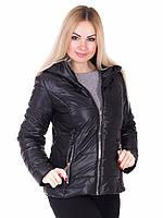 Демисезонная женская куртка Irvik 2016В черный, фото 1