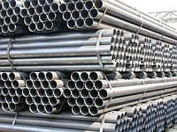 Труба  оцинкованная стальная ДУ 50х3,5мм  ГОСТ 3262-75