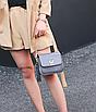 Сумка женская через плечо в стиле Vuitton Classic Серый, фото 5