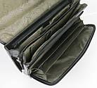 Діловий портфель зі штучної шкіри VERSO B064 чорний, фото 4