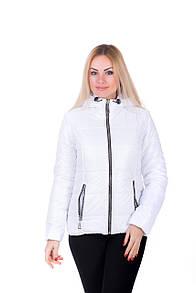 Демисезонная женская куртка Irvik 2016А белая