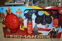 Детский набор пожарного с каской