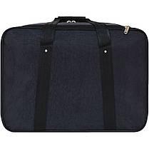 Дорожная сумка Bagland Рига 36 л. черный (0030370), фото 3