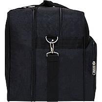 Дорожная сумка Bagland Рига 36 л. черный (0030370), фото 2