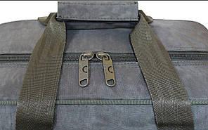 Дорожная сумка Bagland Mr.Dark 23 л. Хаки (0025570), фото 3