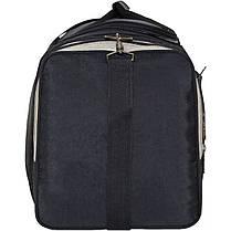 Спортивная сумка Bagland Мюнхен 59 л. Черный/оливка (0032570), фото 2