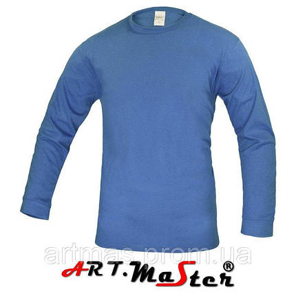 Футболка утепленная ARTMAS синего цвета PZ lux zimowa niebieski, фото 2