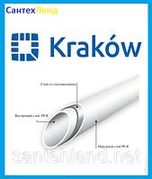 Труба полипропиленовая Krakow Fiber (стекловолокно) D 32 pn20