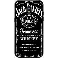 Силиконовый чехол бампер для Samsung J2 2018 Galaxy J250 с рисунком Jack Daniel's