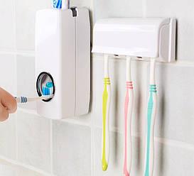 Автоматический диспенсер для зубной пасты и держатель щеток KX-889