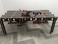 Стол верстак ячеистого типа для отделочников из фанеры 12мм