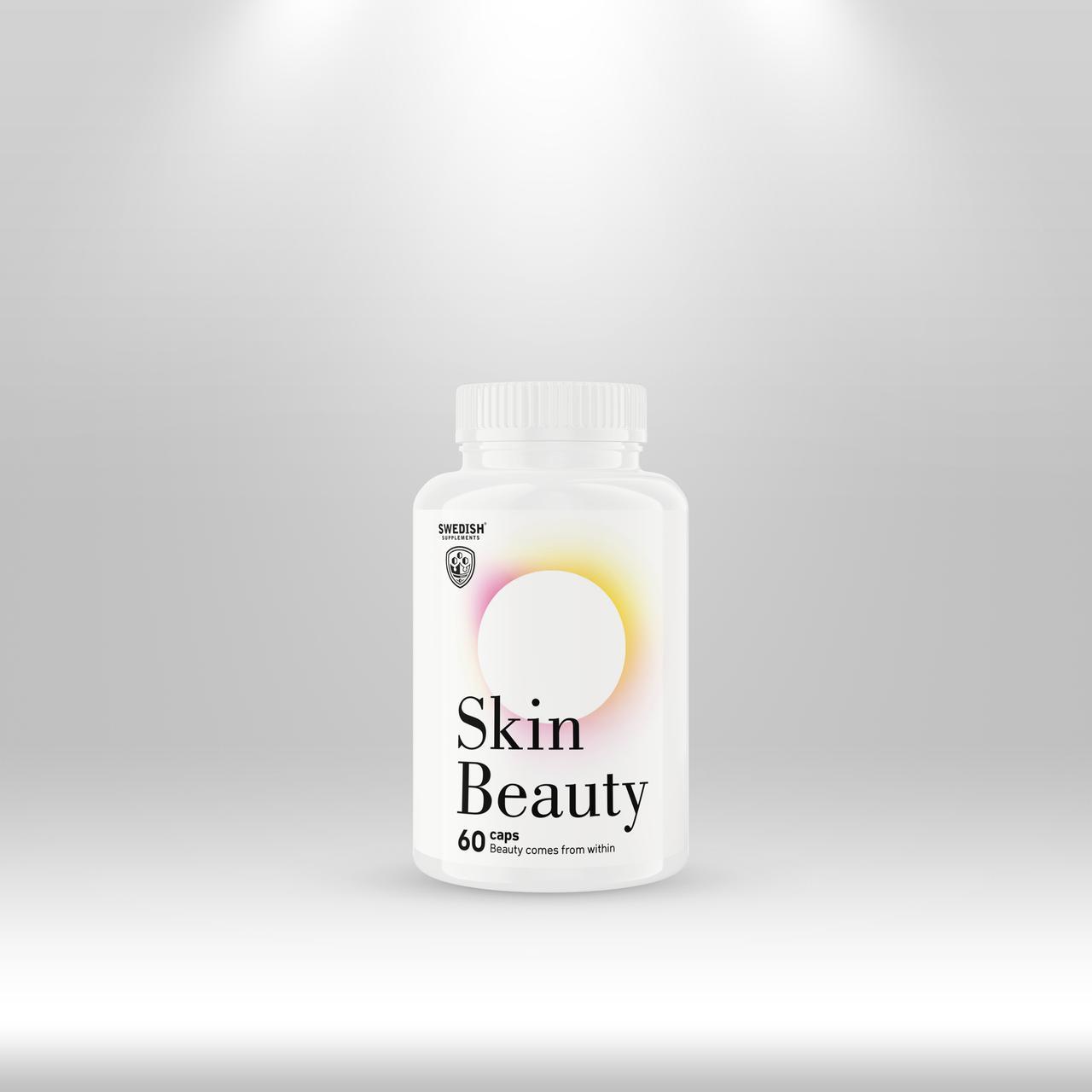 Swedish Supplements Skin Beauty, 60 caps