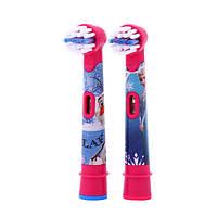 Насадки для зубных щеток Oral-B Stages Power EB10 «Frozen» - 2 шт.