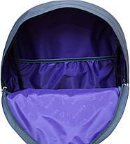 Рюкзак Bagland Молодежный W/R 17 л. серый 158к (00533662), фото 3