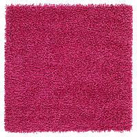 Ковер IKEA HAMPEN 80x80 см розовый 803.480.54