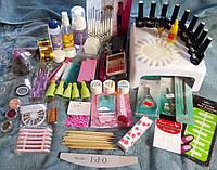 Стартовый набор для наращивания ногтей и покрытия гель-лаком