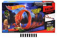 Гоночный трек Hot Wheel 3090, петля, хот вилс, 2 металлические машинки