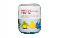 Набір для творчості  Тісто пластилін 6 кол. ТА1065
