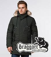 Модная зимняя парка Braggart Arctic - 20758 хаки