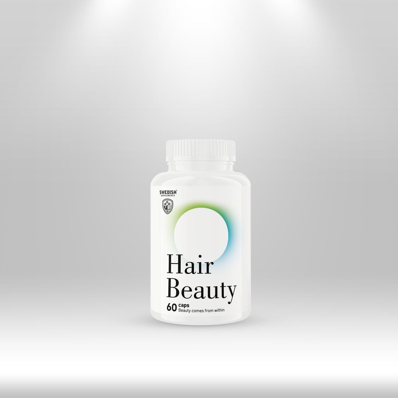Swedish Supplements Beauty Hair, 60 caps
