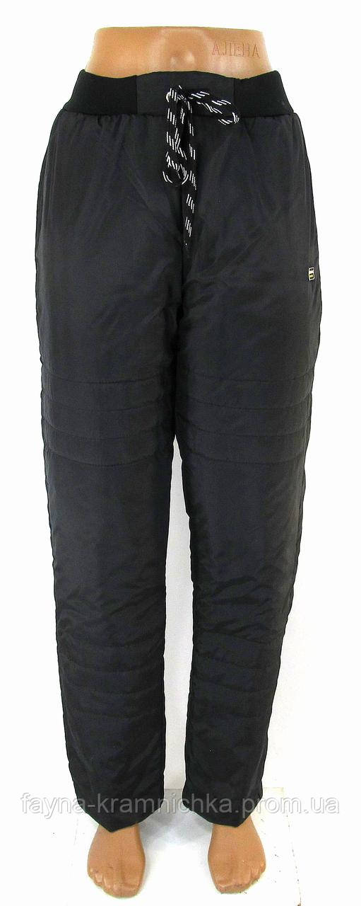 Лосини-джинси зі стразами махрові р-р.40-42