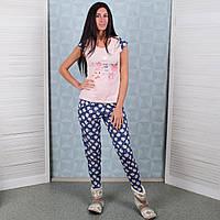 Женский комплект футболка+штаны Турция Pink Secret 4632 L. Размер 46-48. 5066df1df6c40