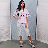 Женский комплект футболка+капри Турция Pink Secret 4628 M. Размер 44-46. 6b678e30f260e