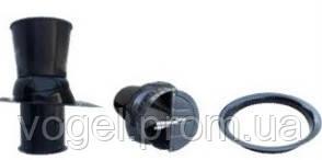 Шахта вентиляційна d=630mm в комплекті з криш-листом і клапаном типу «метелик» L=1,2m