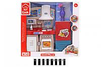 Игровой набор детская Кухня со световыми и звуковыми эффектами 3031-3