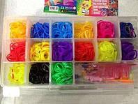 Резиночки для плетения браслетов 1500 шт